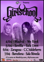 Girlschool Tour