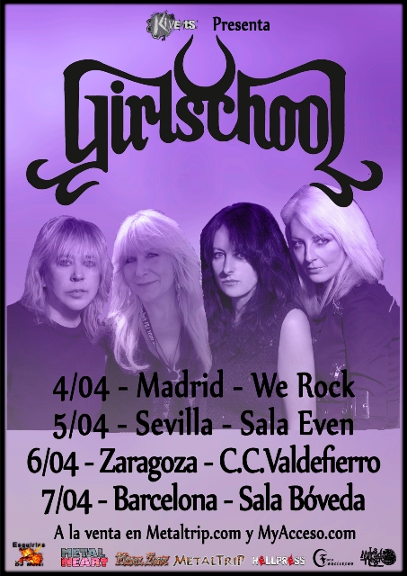 Girlschool Tour