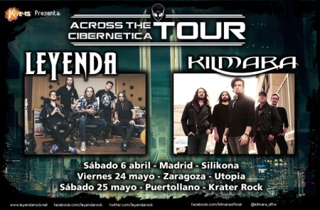 "Leyenda y Kilmara ""Across The Cibernetica Tour"""