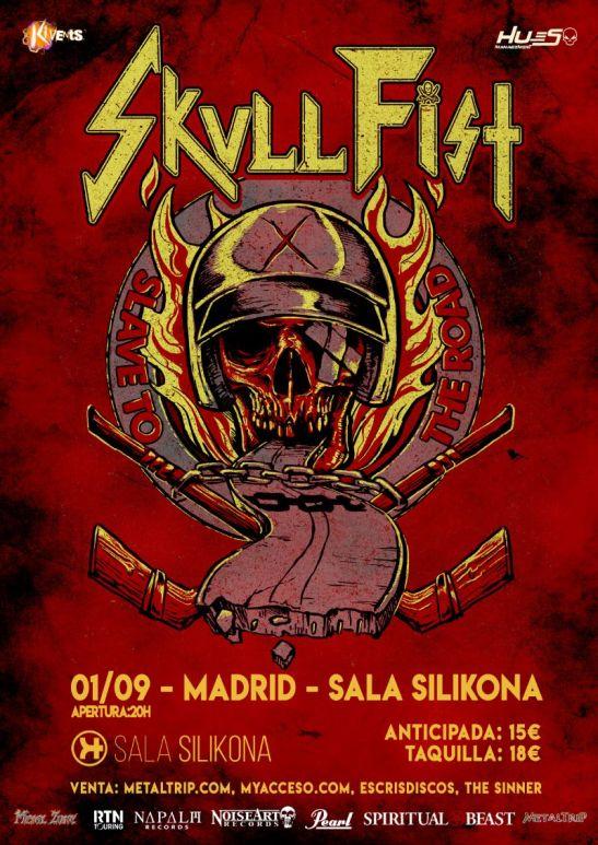 Skull Fist en Madrid