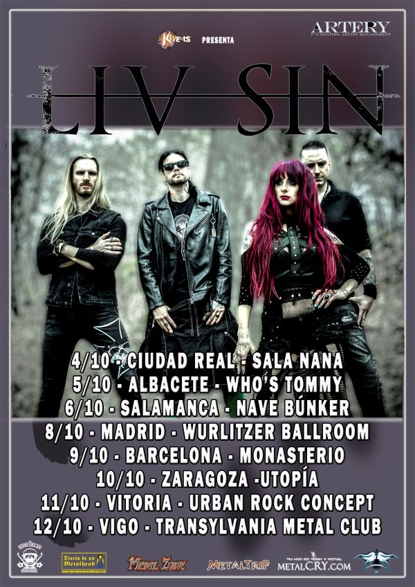 Liv Sin - Spanish Tour