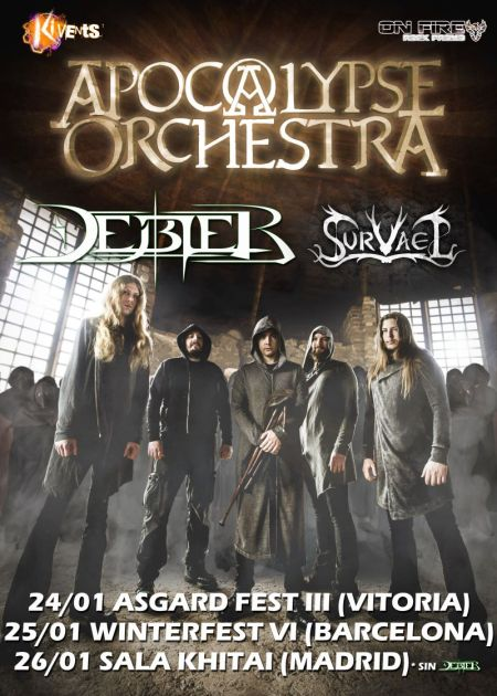 Apocalypse Orchestra Tour