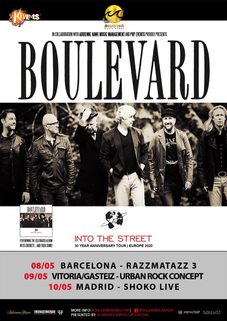 Boulevard Spanish Tour