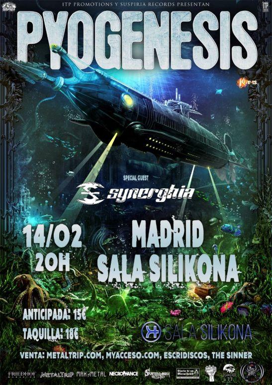 Pyogenesis en Madrid