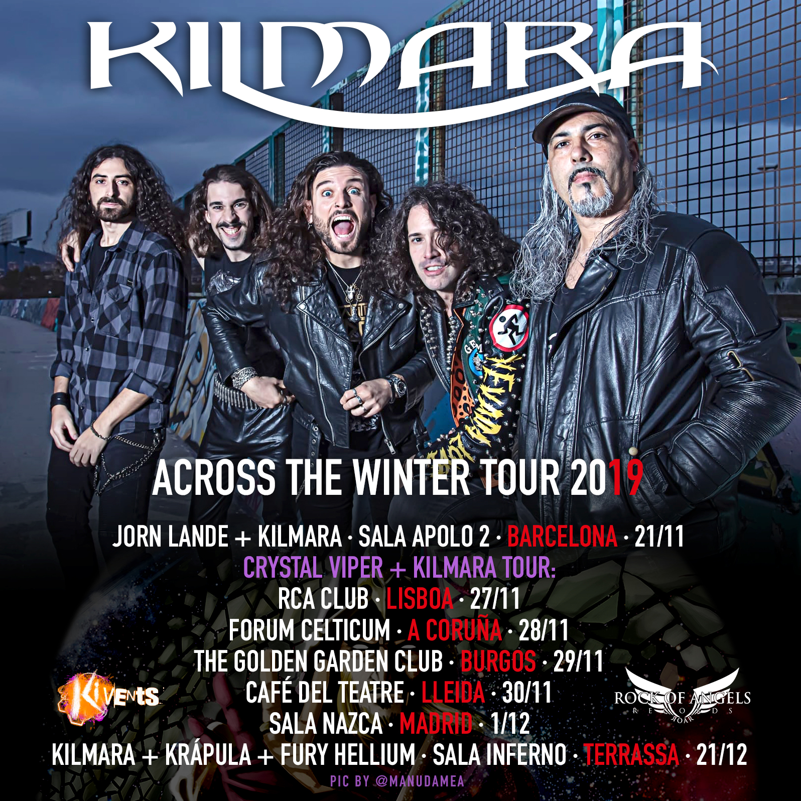 "Kilmara - ""Accross The Winter Tour 2019"""