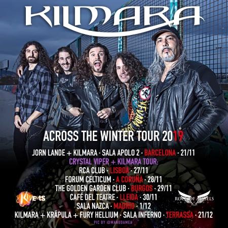 "Kilmara - ""Accross The Winter Tour 2019"""