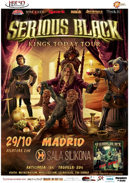 Serious Black en Madrid