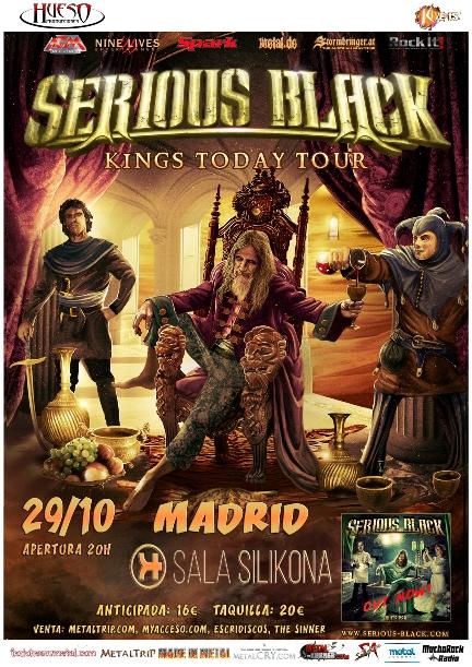 Serious Black en Madrid