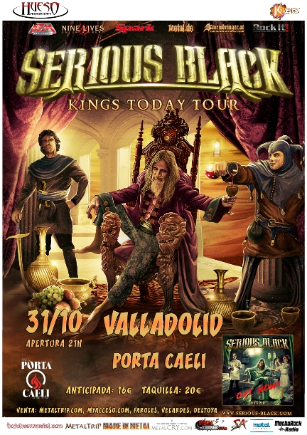 Serious Black en Valladolid