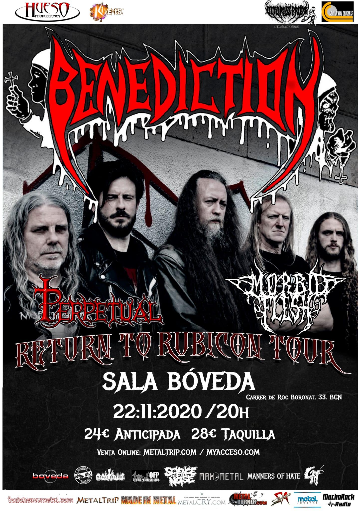 Benediction en Barcelona