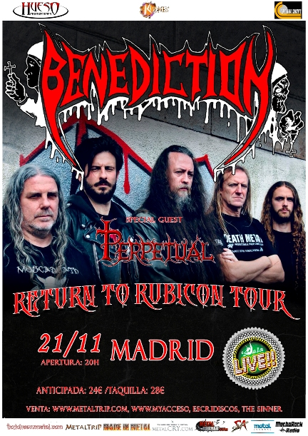 Benediction en Madrid