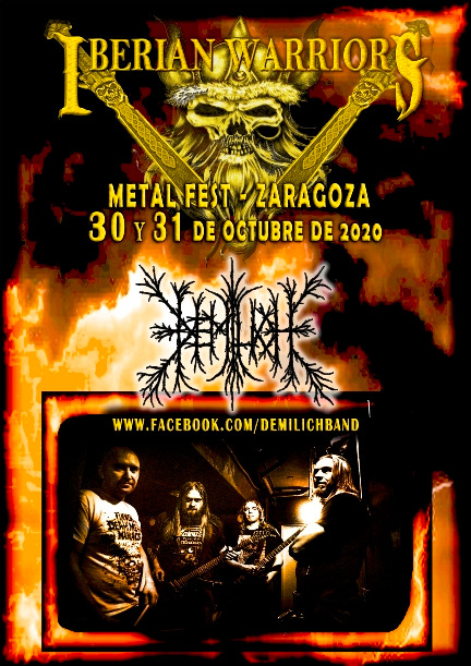 Demilich - Iberian Warriors Metal Fest 2020