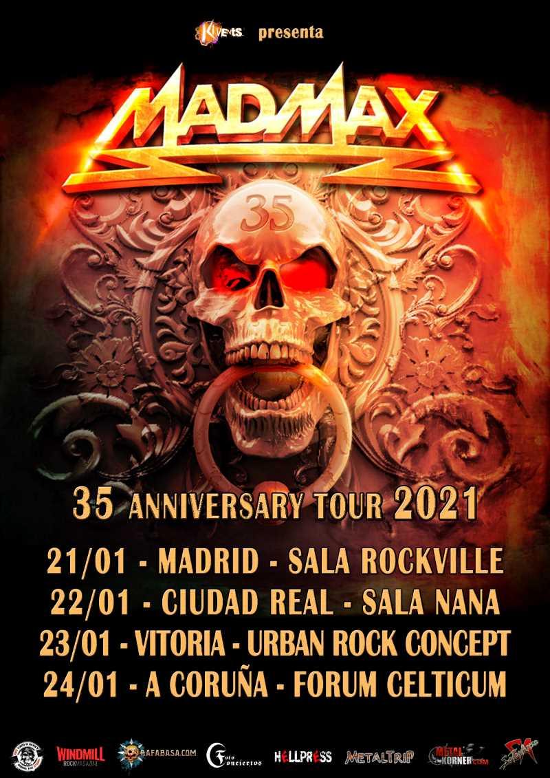 "Mad Max - ""35 Anniversary Tour 2021"""