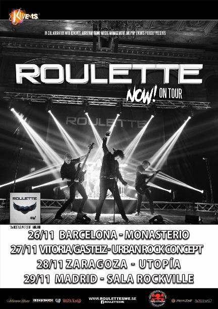 """Roulette - """"Now! Tour 2020"""""""