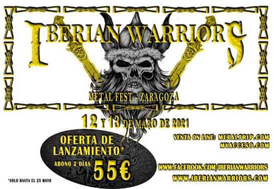 Iberian Warriors Metal Fest 2020 - Oferta